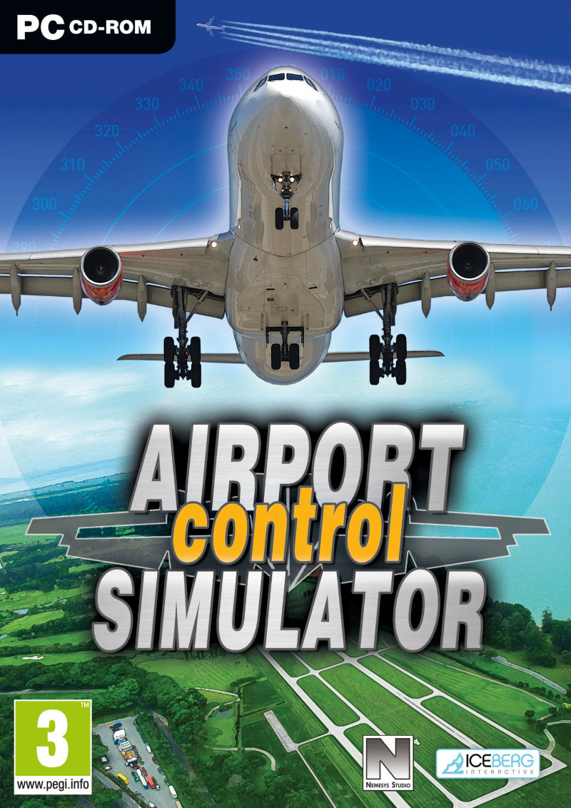 Airport Control Simulator Windows Front Cover