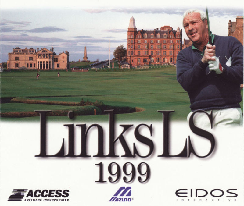 Links LS 1999 Windows Other Jewel Case - Front