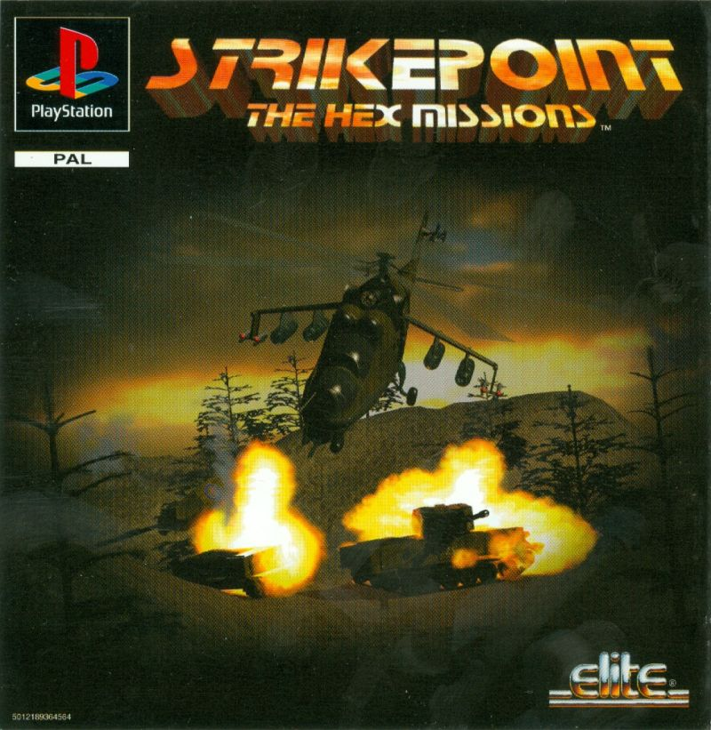 StrikePoint PlayStation Front Cover