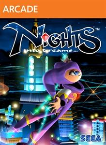 NiGHTS into Dreams... Xbox 360 Front Cover