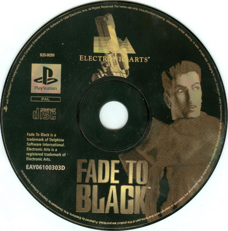Fade to Black PlayStation Media