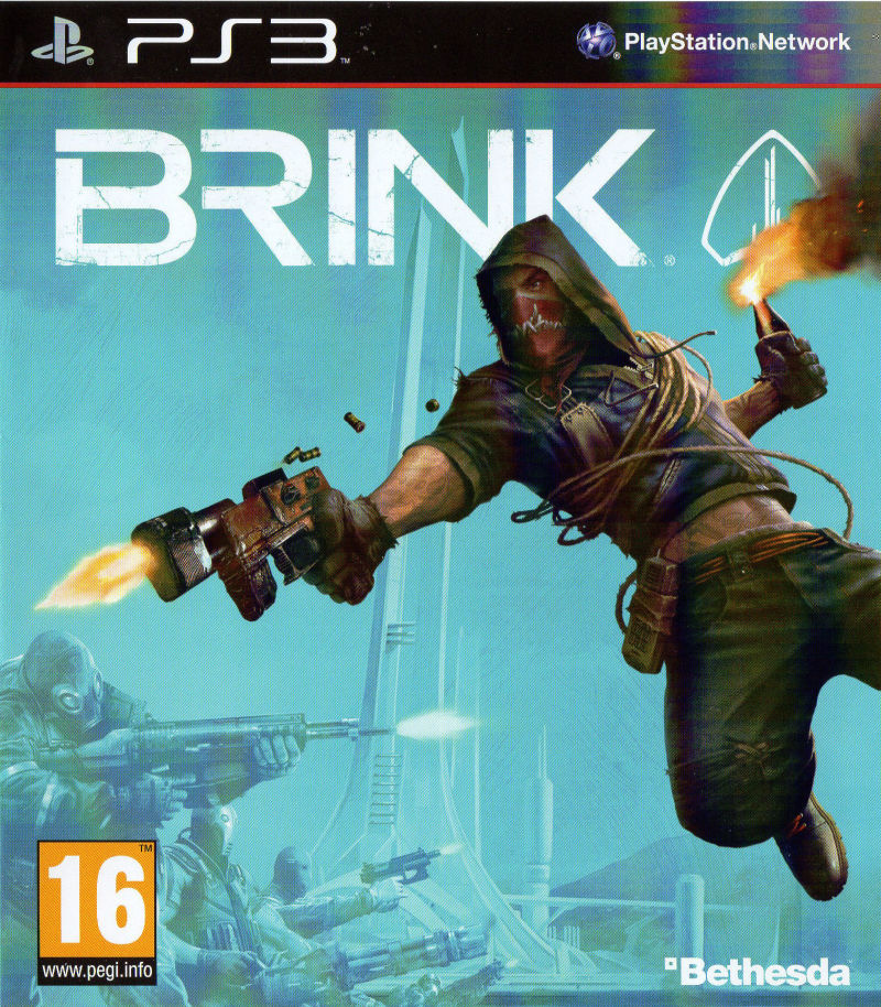 Brink PlayStation 3 Front Cover