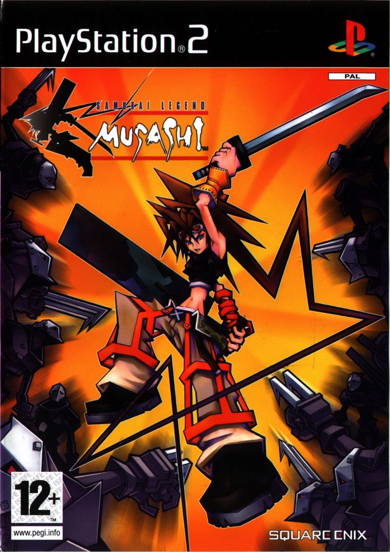 Samurai Legend Musashi PlayStation 2 Front Cover