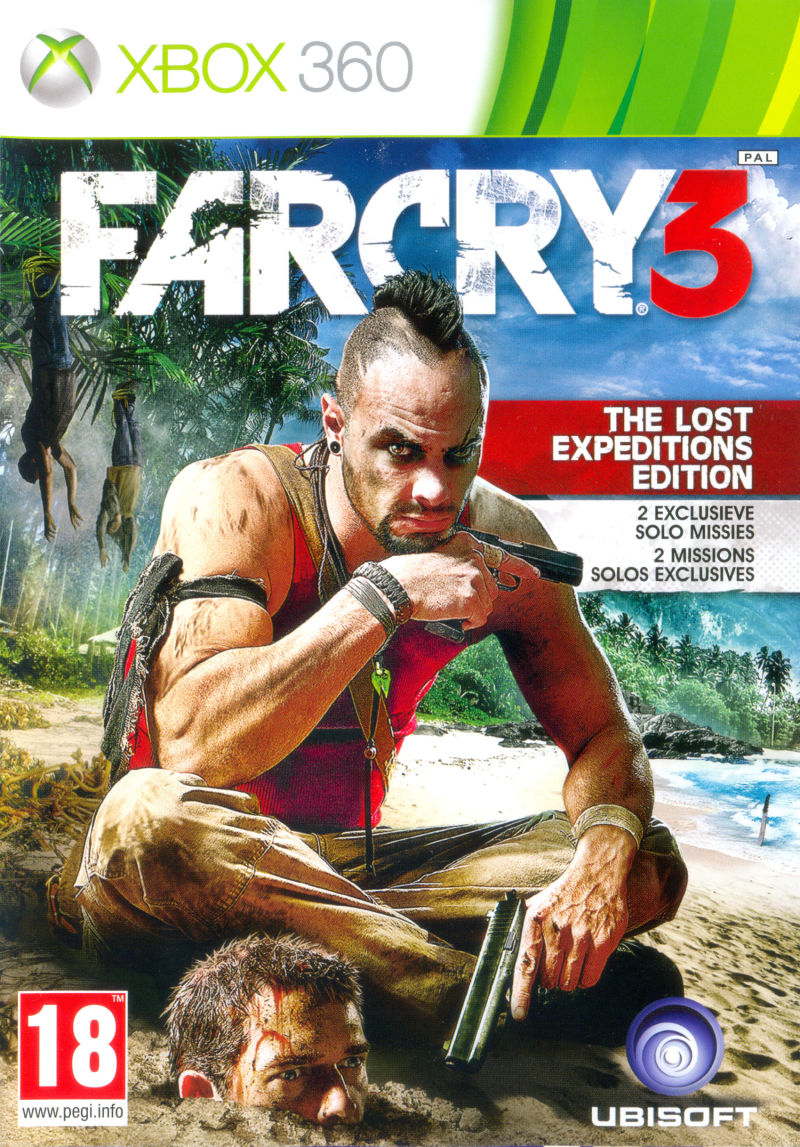 Far Cry 3 (The Lost Expeditions Edition) Xbox 360 Front Cover