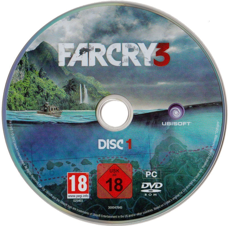 Far Cry 3 (The Lost Expeditions Edition) Windows Media Disc 1/2