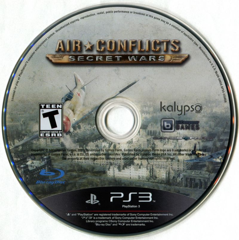 Air Conflicts: Secret Wars PlayStation 3 Media