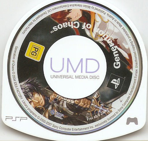Generation of Chaos PSP Media