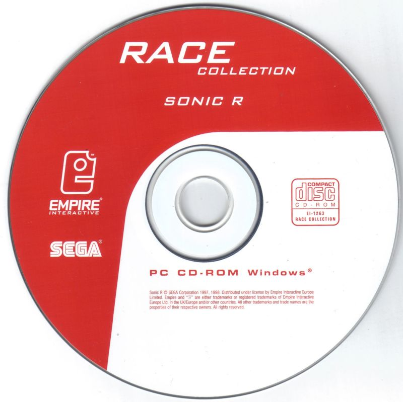Race Collection Windows Media Sonic R