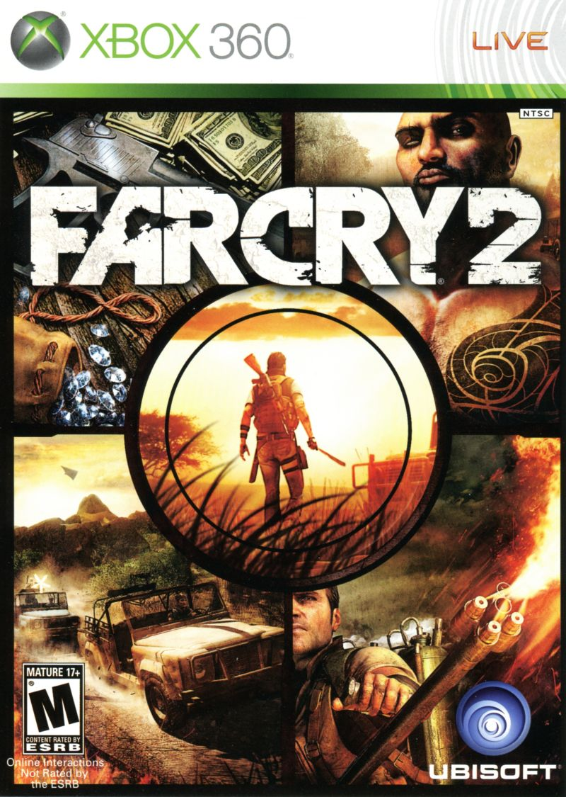 Far Cry 2 (2008) PlayStation 3 box cover art - MobyGames