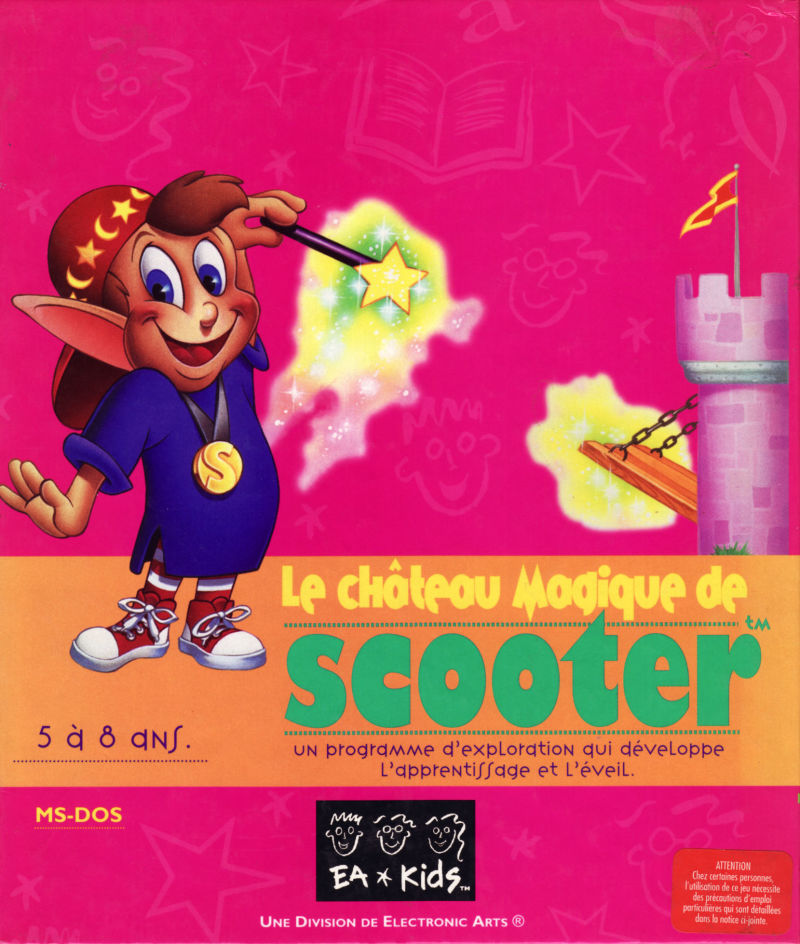 Scooter's Magic Castle DOS Front Cover