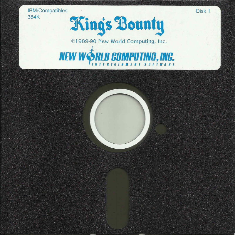 King's Bounty DOS Media Disk (1/2)