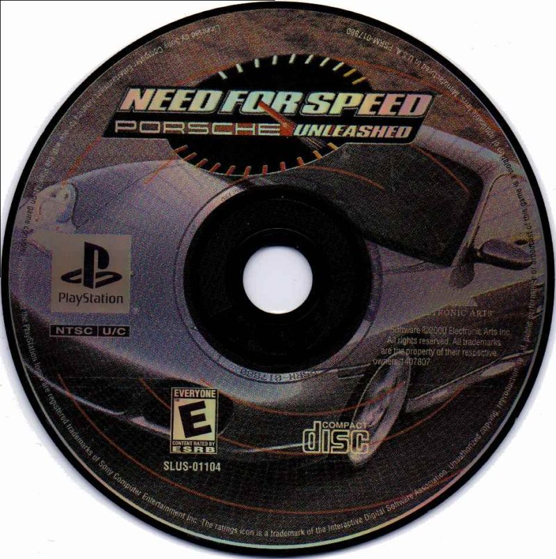 Need for Speed: Porsche Unleashed PlayStation Media
