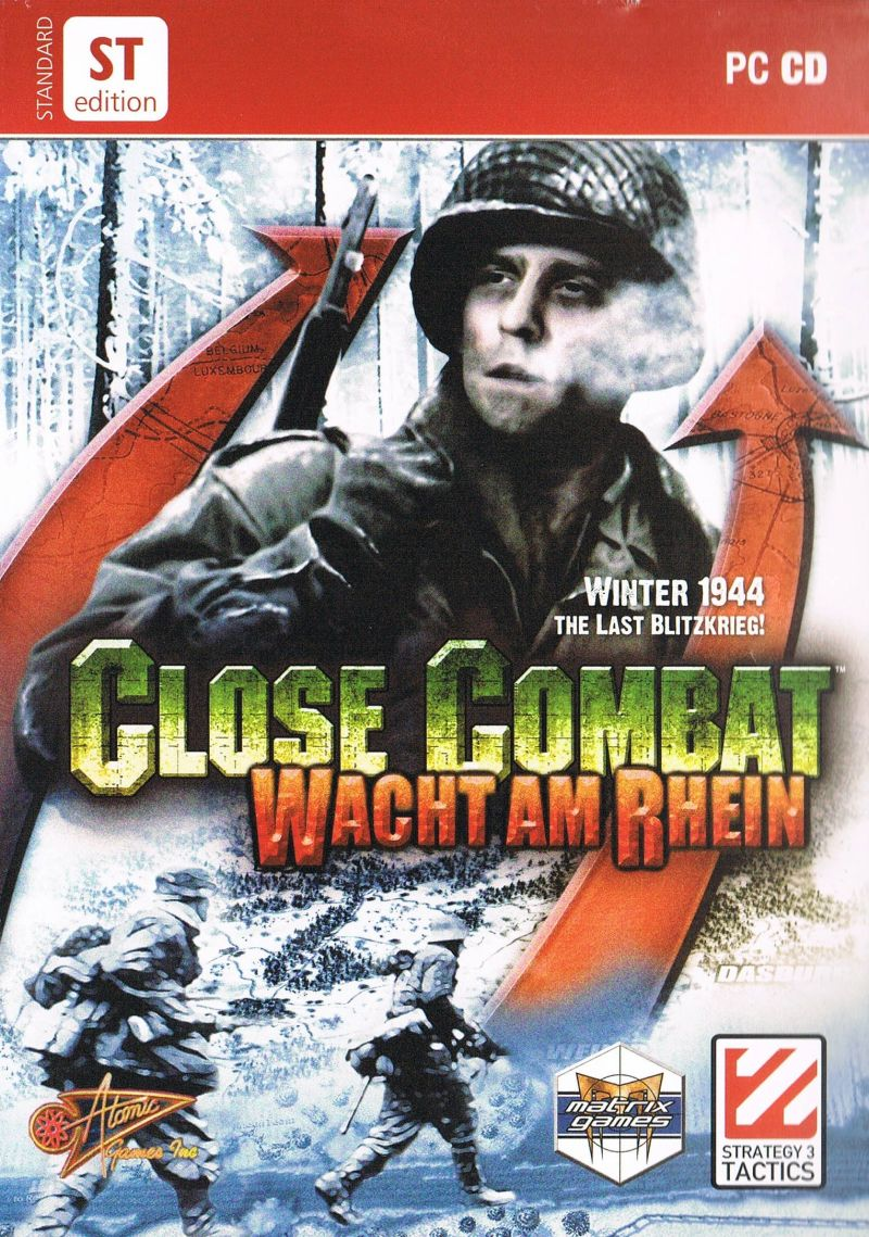 Close Combat: Wacht am Rhein Windows Front Cover