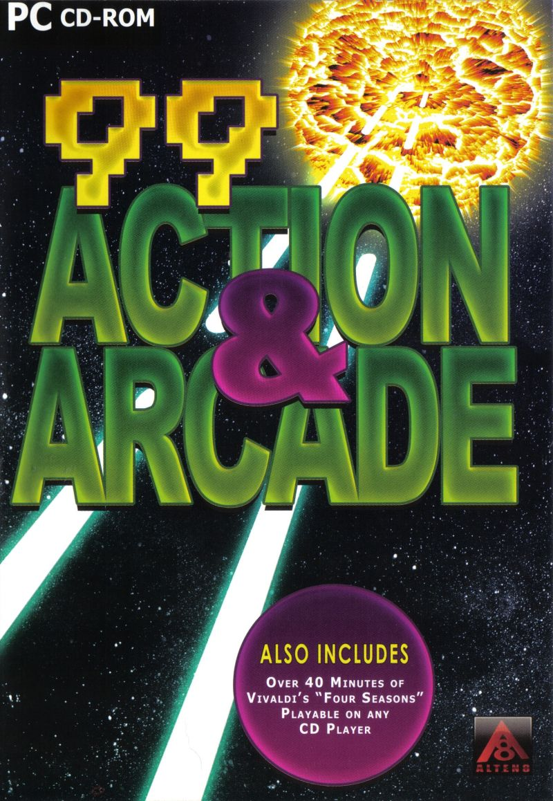 99 Action & Arcade Windows Front Cover