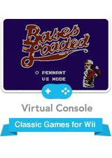 Bases Loaded Wii Front Cover