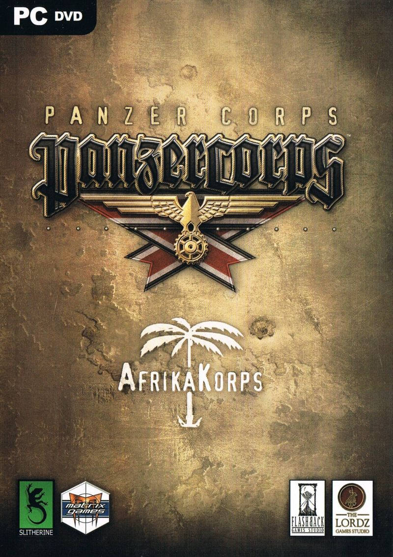 Panzer Corps: Afrika Korps Windows Front Cover
