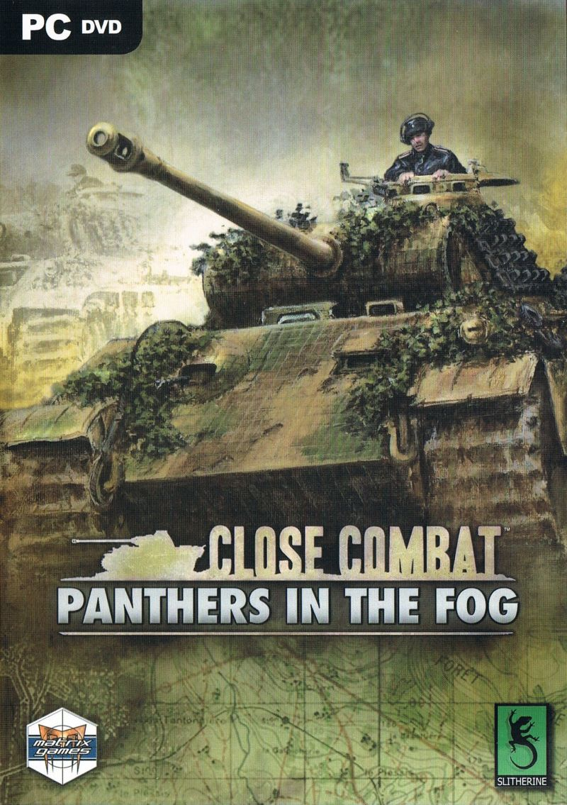 Close Combat: Panthers in the Fog Windows Front Cover