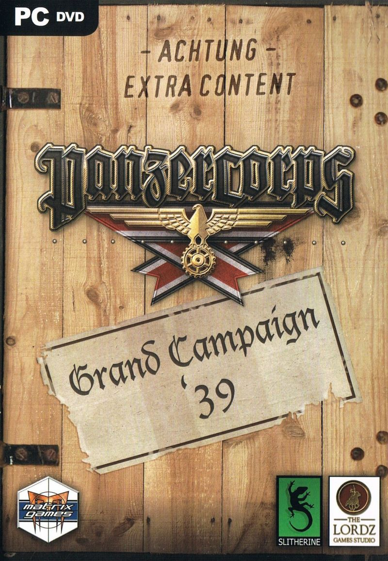 Panzer Corps: Grand Campaign '39 Windows Front Cover