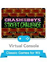 Crash 'N the Boys: Street Challenge Wii Front Cover
