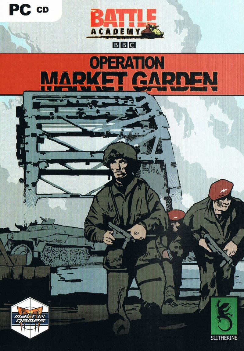 Battle Academy: Operation Market Garden Windows Front Cover