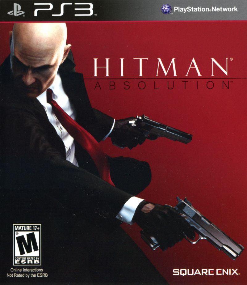 Hitman Absolution Fuse Box : Hitman absolution playstation box cover art