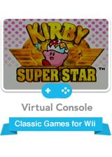 Kirby Super Star Wii Front Cover