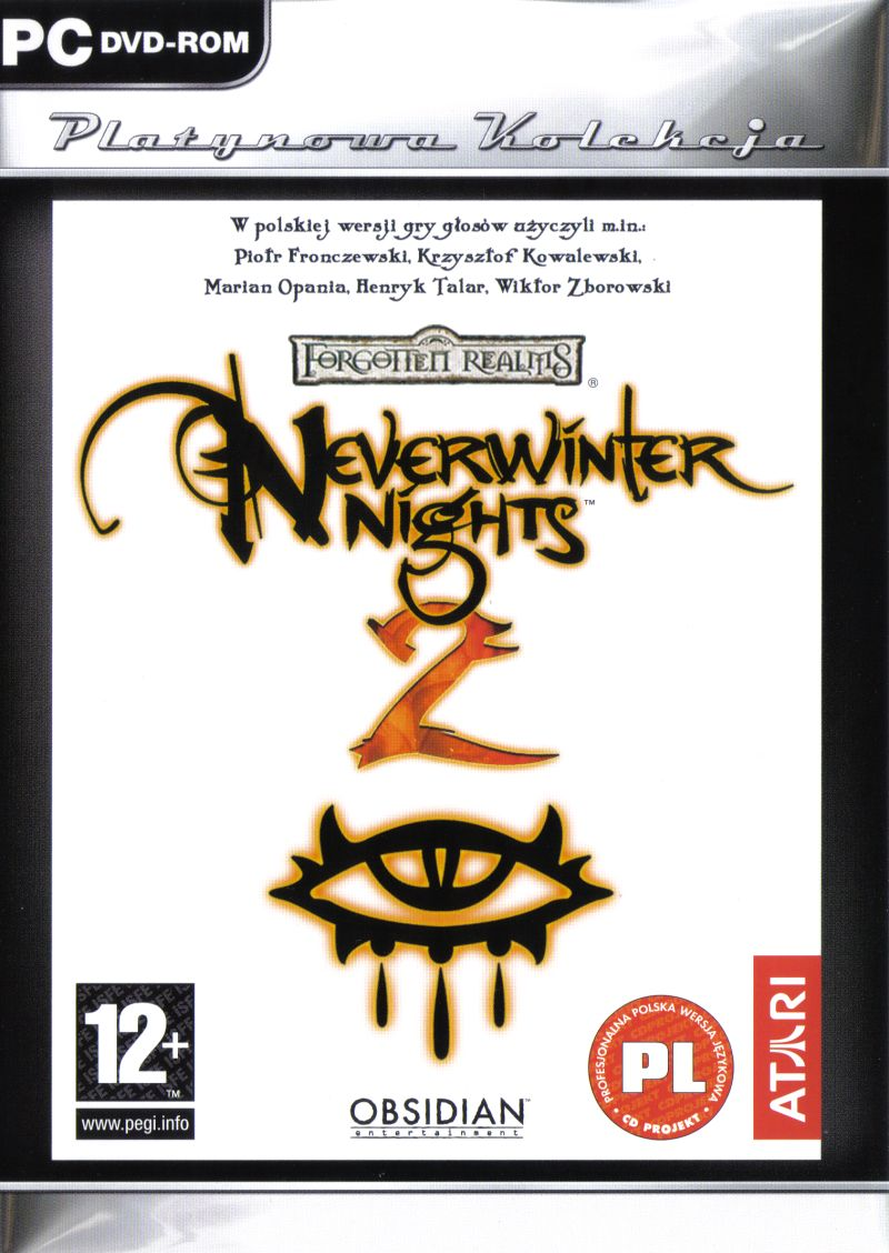 Neverwinter Nights 2 Windows Other Keep Case - Front
