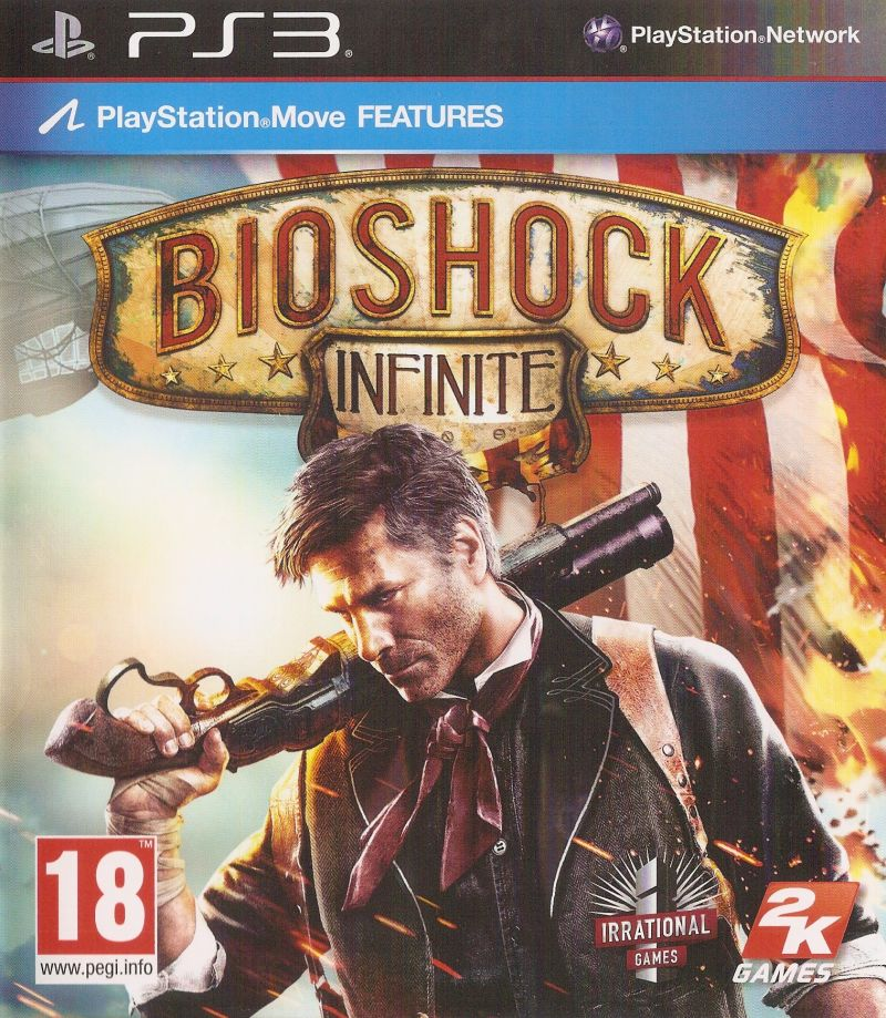 BioShock Infinite PlayStation 3 Front Cover