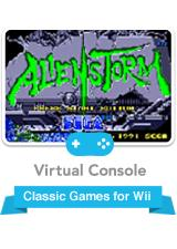 Alien Storm Wii Front Cover