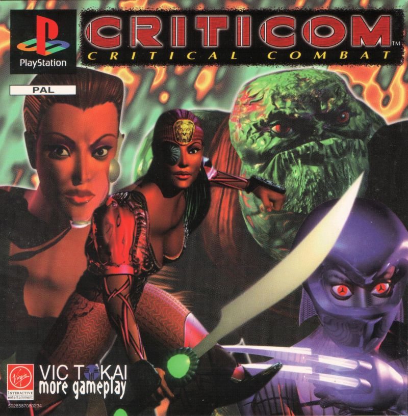 Criticom PlayStation Front Cover