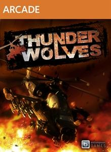 Thunder Wolves Xbox 360 Front Cover
