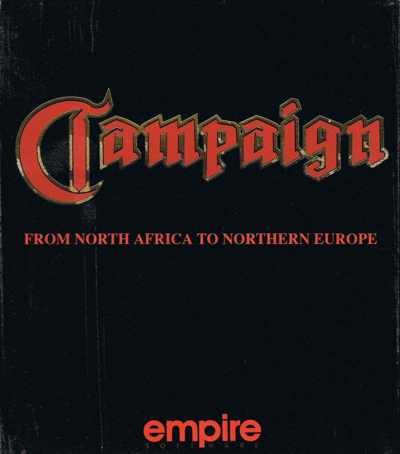 Campaign: From North Africa to Northern Europe DOS Front Cover