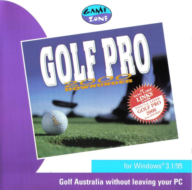 Golf Pro 2000 Downunder Windows Front Cover