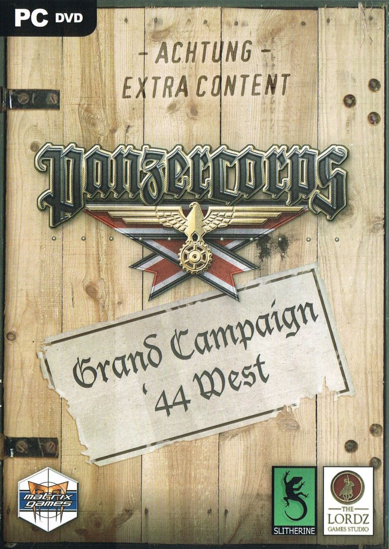 Panzer Corps: Grand Campaign '44 West Windows Front Cover