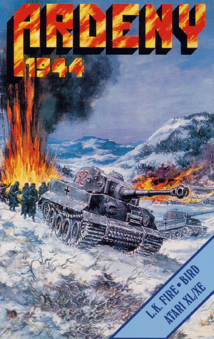 Ardeny 1944 Atari 8-bit Front Cover