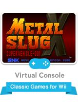 Metal Slug X Wii Front Cover