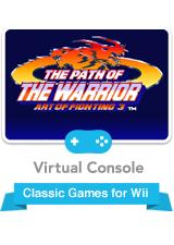 Art of Fighting 3: The Path of The Warrior Wii Front Cover