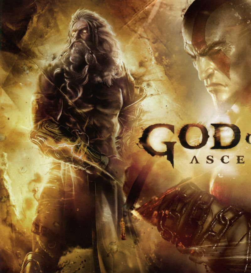 God of War: Ascension PlayStation 3 Inside Cover Left Inlay