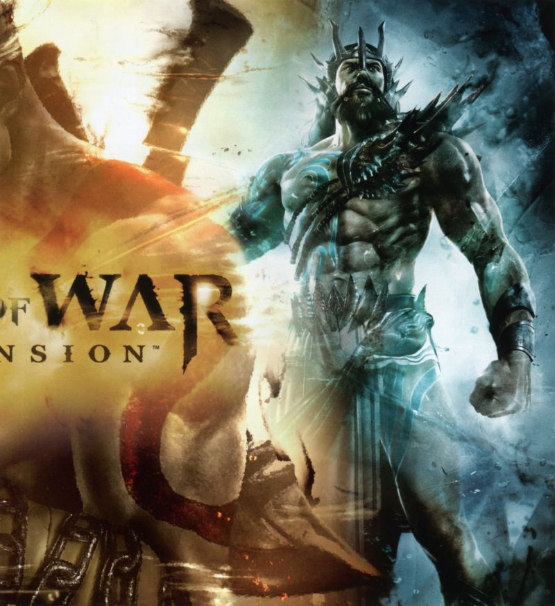 God of War: Ascension PlayStation 3 Inside Cover Right Inlay