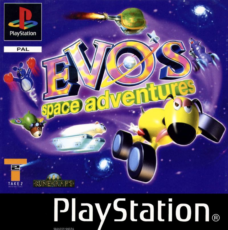 Space Station Silicon Valley PlayStation Front Cover