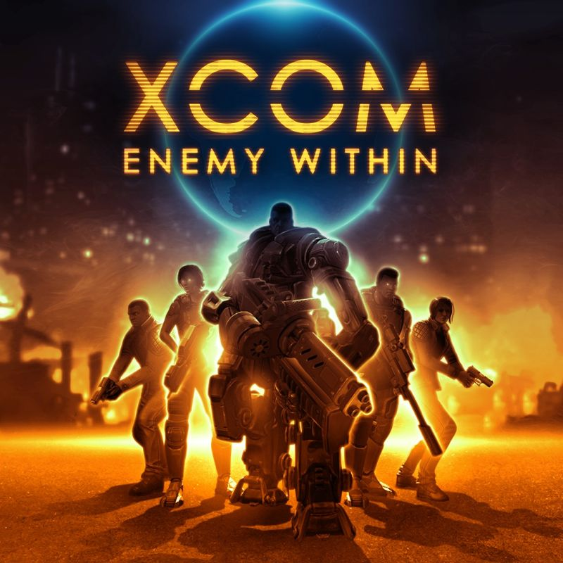 XCOM: Enemy Within PlayStation 3 Front Cover