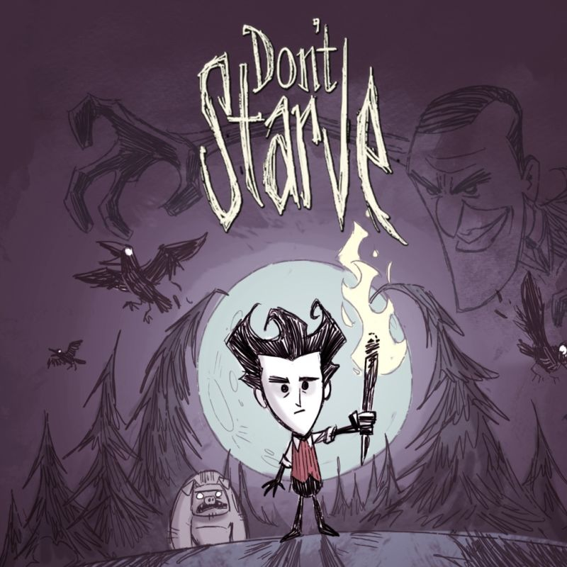 Don't Starve PlayStation 4 Front Cover