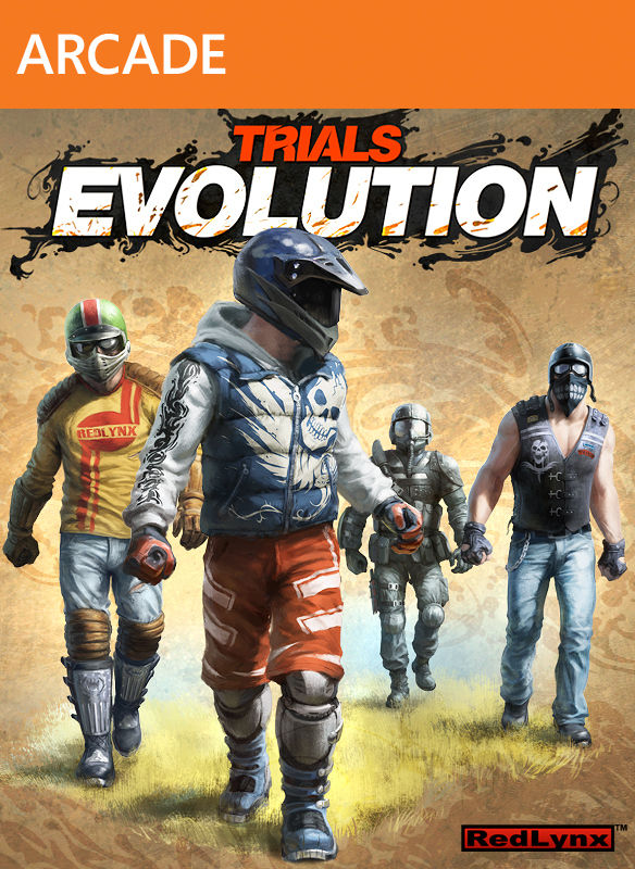 Trials Evolution Xbox 360 Front Cover