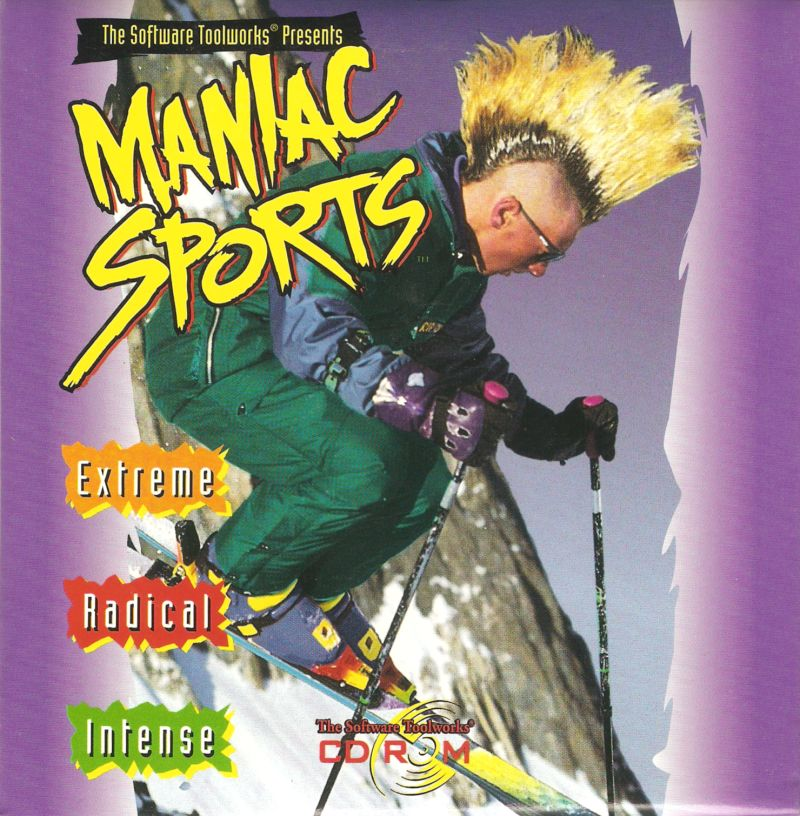 Maniac Sports Windows 3.x Front Cover