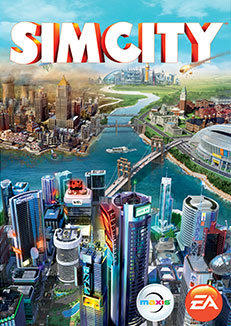 SimCity Macintosh Front Cover