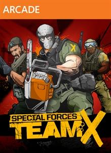 Special Forces: Team X Xbox 360 Front Cover