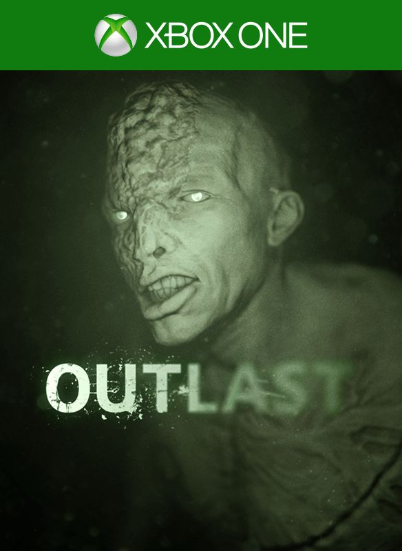Outlast Xbox One Front Cover