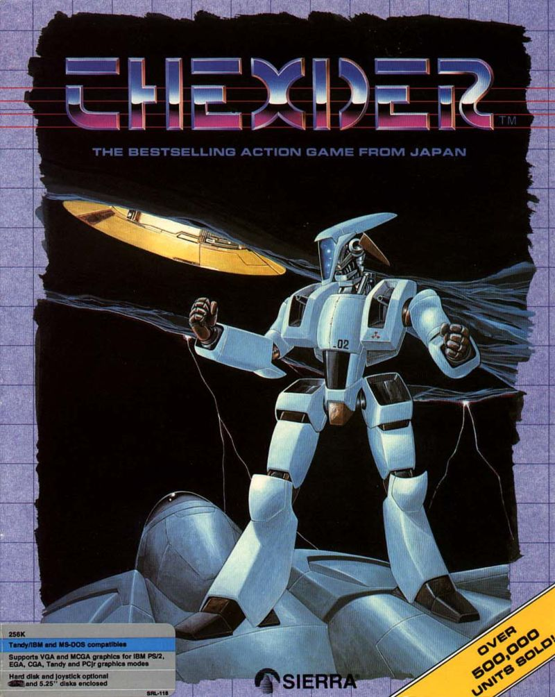Thexder DOS Front Cover
