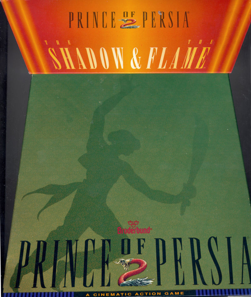 Prince of Persia 2 - Front cover
