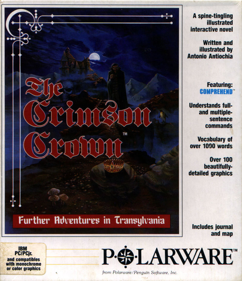 The Crimson Crown DOS Front Cover
